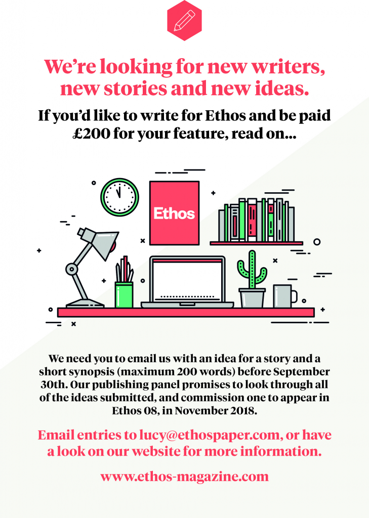 Write for Ethos — Ethos